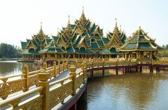 Buddhism Old temple in Thailand. Historical places. Old Buddhism temples in Thailand Stock Image