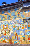 Buddhism Paintings Lijiang China House Royalty Free Stock Images