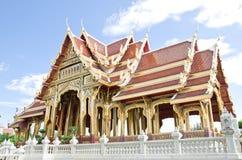 Buddhism pavilion in bangkok Royalty Free Stock Image