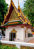Buddhism religion in the architectural monument. Wat Mahathat Yuwaratrangsarit, Bangkok, Thailand Royalty Free Stock Photos