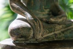 Part of Buddha image with copy space. Buddhism religion. Buddhism religion. Part of Buddha image with copy space royalty free stock photography