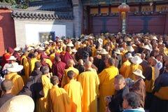 Buddhism religious ceremony stock images