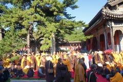 Buddhism religious ceremony Royalty Free Stock Photography