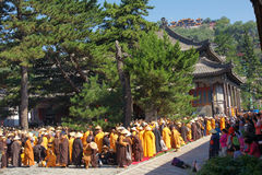 Buddhism religious ceremony Stock Photos