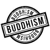 Buddhism rubber stamp Royalty Free Stock Image