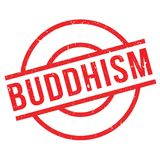 Buddhism rubber stamp Royalty Free Stock Photos
