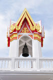 Buddhism 's belfry in Thailand Royalty Free Stock Photos