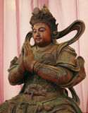 Buddhism Statue. Warrior royalty free stock image