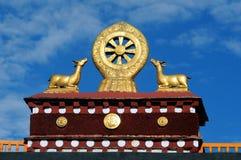 buddhism symbol Obraz Royalty Free