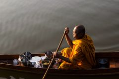 buddhism Tailandia del monje Fotos de archivo