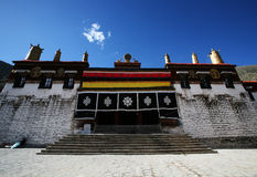 Buddhism Tashilhunpo Monastery in tibet Stock Photos