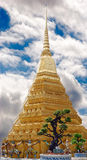 Buddhism temple. Scene buddhism temple on background cloud Stock Image