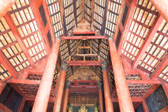 Buddhism temple ceiling Stock Photos