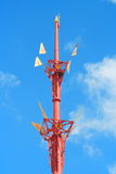 Buddhism Temple Flag Stand Stock Images
