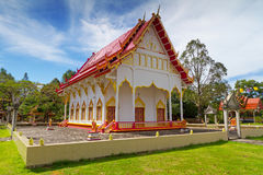 Buddhism temple in Thailand. Architecture of buddhism temple in Thailand Royalty Free Stock Photos
