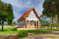 Buddhism temple in Thailand stock images