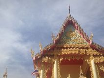 Buddhism temple. Temple in thailand Royalty Free Stock Photos