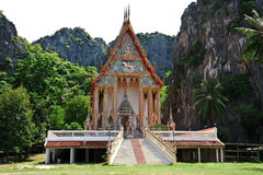 Buddhism temple in Thailand Stock Photos