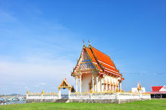 Buddhism temple. In Thailand , Asia royalty free stock photo