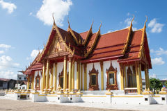 Buddhism temple in Thailand. Buddhism temple of the most beautiful in Thailand Royalty Free Stock Photos
