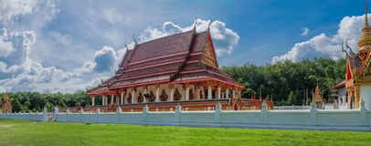 Buddhism. Temple in Thailand, It is a place of meditation created by Donation of people Royalty Free Stock Photos
