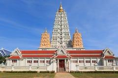 Beautiful temple. Buddhism of temple wat yanasangwararam woramahawihan, pattaya, chonburi thailand royalty free stock image