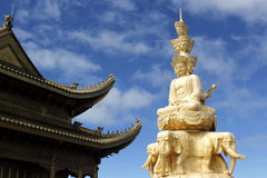 Buddhism and temples Royalty Free Stock Photos