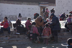 buddhism tibetan Obraz Royalty Free
