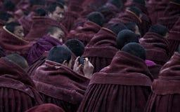 Buddhism tibetano Fotos de archivo libres de regalías