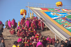 Buddhism tibetano Immagine Stock