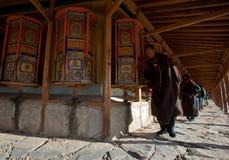 Buddhism tibetano Immagini Stock