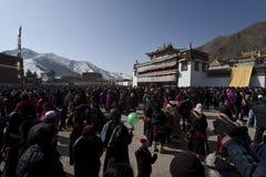 Buddhism tibetano Immagine Stock Libera da Diritti