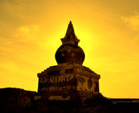 Buddhism tower Stock Images