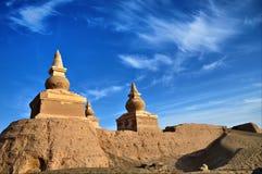 Buddhism towers Stock Photo