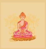buddhismmodell Royaltyfri Foto