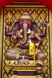 buddhismskulptur thailand Arkivbild