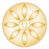 buddhismsymbol Arkivfoto