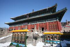buddhismtempel Royaltyfria Bilder