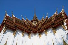 buddhismtempel thailand Royaltyfria Bilder