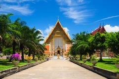 buddhismtempel thailand Royaltyfri Fotografi