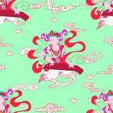 Buddhismus des Bodhisattva n Stock Abbildung