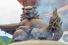 Buddhismus-Gegenstand von Zenkoji-Tempel ist einer von den berühmtesten und stockbild