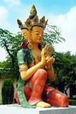 Buddhismus in Indien stockfotos