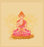 Buddhismus-Muster lizenzfreie abbildung