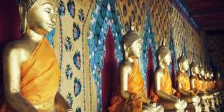 Buddhismus-Religions-Geistigkeits-Idol-Konzept stockfoto