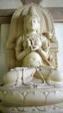 Buddhismus: weiblicher Bodhisattva Prajnaparamita Stockfotografie
