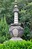 Buddhismuskontrollturm im Süden von China Stockbilder