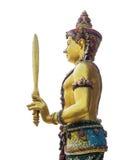 Buddhismusstatue Lizenzfreies Stockbild