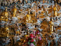Buddhismusstatue bei Longhua Temple Stockfotos