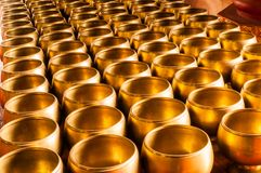 Buddhist alms bowl. Stock Photography